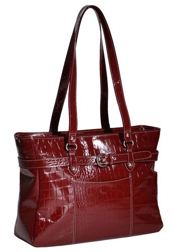 Siamod Women's Serra Laptop Tote,Red,16.5'' by Siamod