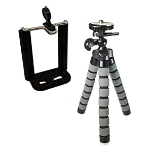 """HTC Herald Cell Phone Tripod Small Flexible Gripster Tripod For Smartphones - Approx 9"""" H"""
