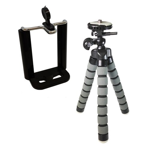 Samsung Galaxy Mega 6.3 LTE Cell Phone Tripod Small Flexible Gripster Tripod For Smartphones – Approx 9″ H