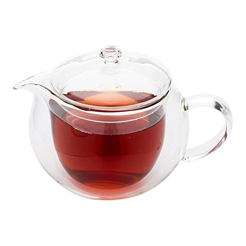 Forma Double Wall Glass Teapot 16.9 ounces 1 count box