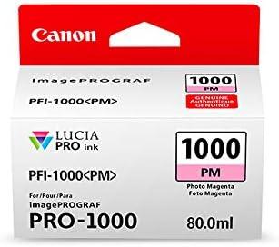Canon PFI-1000 PM PHOTO MAGENTA INK TANK 0551C001 PHOTO MAGENTA INK TANK
