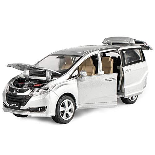 [해외]YN 모형 자동차 장식 크리스마스 선물 장난감 자동차 모델 MPV 모델 자동차 혼다 오디세이 자동차 모델 합금 자동차 아이 1:32 미니 / YN Model Car Decoration Holiday Gift Toy Car Model MPV Model Car Honda Odyssey Car Model Alloy Car Kids 1...
