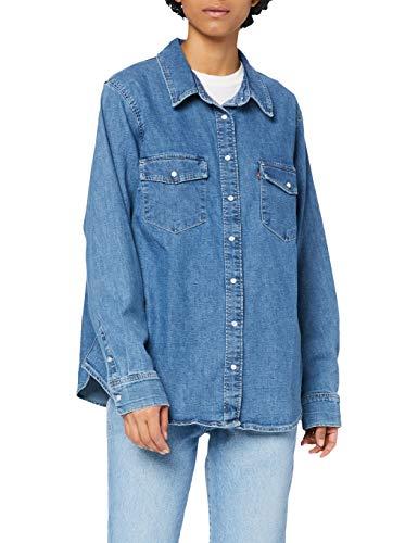 Levi's Plus Size Dames Pl Essential Western Shirt