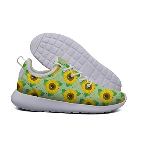 Womens Mesh Lightweight Flex Roshe Hoohle Country Bee Cross blue Sunflower And Stylish 2 Pineapples Sports Stripes Shoes Running 5gwnwYqUF