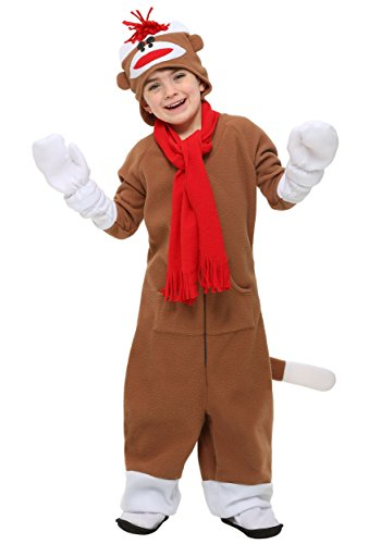 Monkey Sock Costume (Child Sock Monkey Costume)