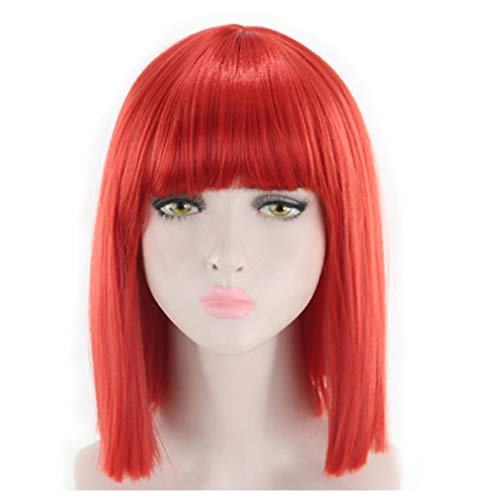 Inkach Clearance Short Bob Wigs with Air Neat