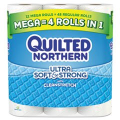 QuiltedNor - Quilted Northern Ultra Soft & Strong Bathroom Tissue
