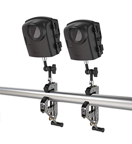 Brinno BCC2000 Time Lapse Camera, Two-Pack Bundle Upto 1 Year Battery Life, Perfect for Construction and Outdoor Security, 1080P FHD, Includes Flexible Clamp Mount & Weather Resistant Outdoor Housing