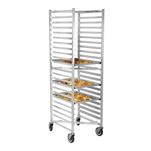 Nesting Aluminum Bun Pan Rack - Gusto - 20 Pan Aluminum Nesting Bun Pan Rack