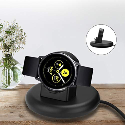 - Shan-S Wireless Charging Module for Samsung Galaxy Watch Active 40mm, New Portable Fast Wireless Power Source Charger Rapid Charging Stand Dock for Galaxy Watch 42mm 46mm Smartwatch