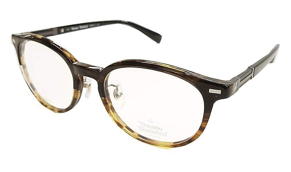 【VivienneWestwood】 ヴィヴィアン ウエストウッド 眼鏡 メガネフレーム VW9017-DW 正規品 伊達眼鏡 薄型度ナシ 1.60 紫外線 UVカット レンズ付き   B07D9JCYNF