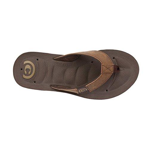 Cobian Men's Draino Chocolate Sandals - size 12
