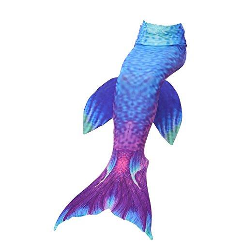 Kokowaii Fancy Womens Girls Mermaid Tail Dress Swimwear(No -
