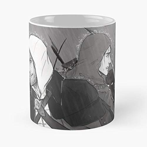 Assassins Creed 4 Black Flag Edward Kenway - 11 Oz Coffee Mugs Unique Ceramic Novelty Cup, The Best Gift For -