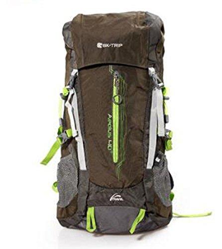 Outdoor Rucksack Klettern Bag Schulter Walking Rucksack Multifunktions-Wasserdicht 40L großes Fassungsvermögen