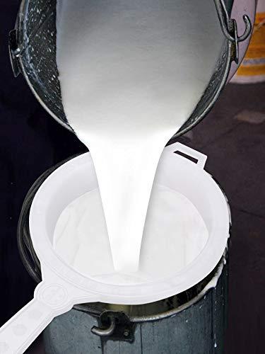 90 Degree Milk Stainer Garani Plastic Filter Mesh Nylon Milkcan Fitted (3 Pcs) for Dairy Imdustries 5