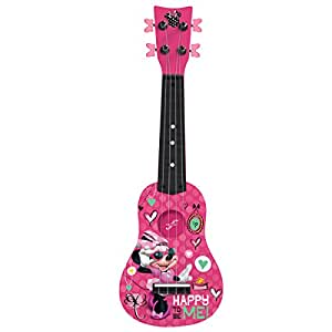 disney minnie mouse mini guitar by first act mo290 musical instruments. Black Bedroom Furniture Sets. Home Design Ideas