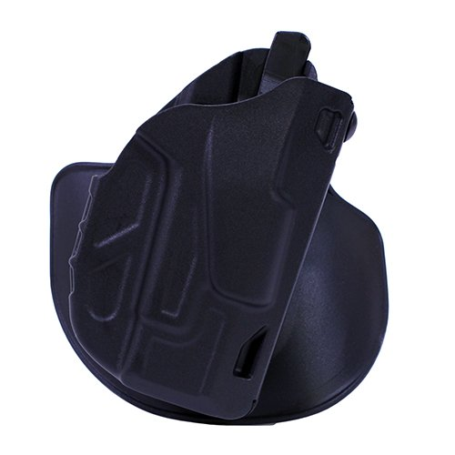 Glock 27 Paddle Holster (Safariland 7378 7TS ALS Concealment Holster, Flex-Paddle & Belt Loop Combo, Glock 26, 27, 33, SafariSevenit Plain Black, Right Hand)