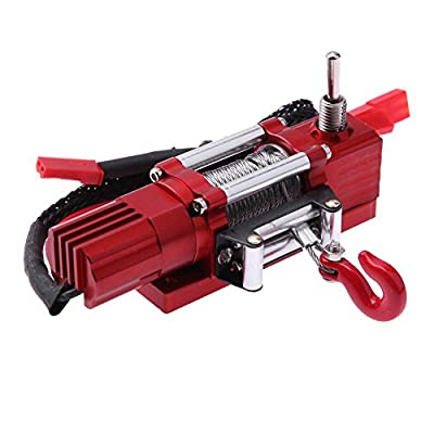 Metal Electric Winch for 1:10 Traxxas Redcat D90 RC Crawler Car Accessories