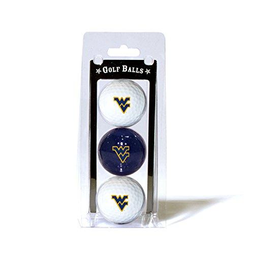 West Virginia University 3-Pack Golf Balls