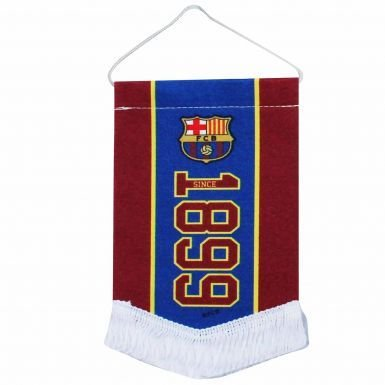 Barcelona Car Flag - FC Barcelona Mini Pennant for Cars