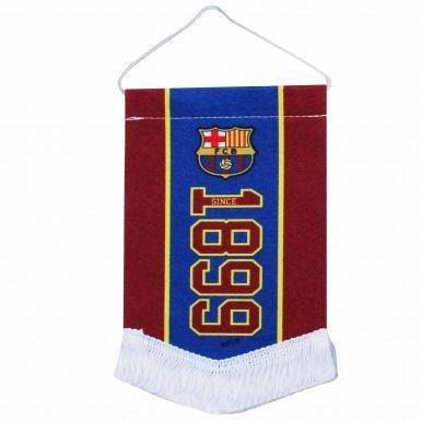 Car Flag Barcelona - FC Barcelona Mini Pennant for Cars