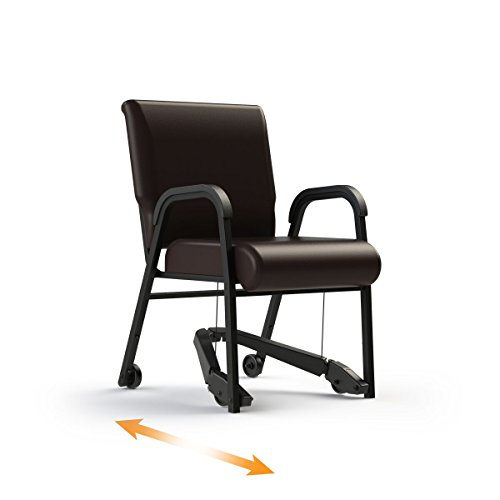 "(ComforTek Titan Assistive Chair w/REZ Lever System - 22"" Seat - 300lbs - Root Beer)"
