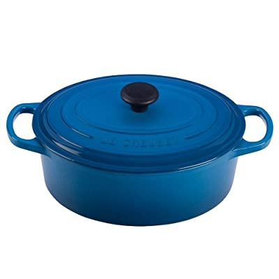 Le Creuset Signature Enameled Cast-Iron 3-1/2-Quart Oval French Oven