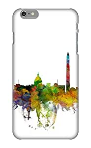 New AmMEnA-1518-IDkKJ Washington Dc Skyline Tpu Cover Case For Iphone 6 Plus - Best Gift Choice For Christmas