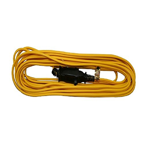 Woods 0591 16/2 SPT-2 Flat Vinyl Extension Cord, Yellow, 25-Feet (Purpose Cord Extension General)