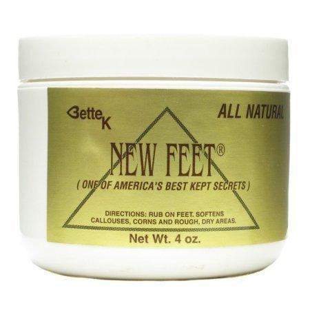 Price comparison product image Bette K's New Feet Bette K's 4 oz Cream