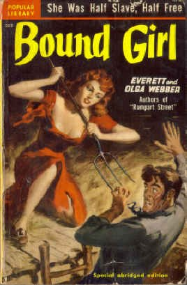 Bound Girl (Vintage Pop Library, #303), Everett Webber; Olga Webber
