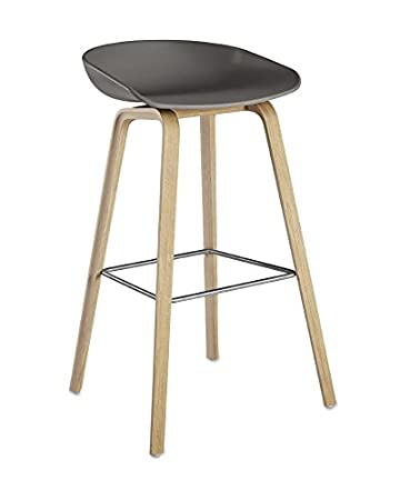 HAY - About A Stool AAS 32 - grau - Eiche geseift - 75 cm - Hee ...
