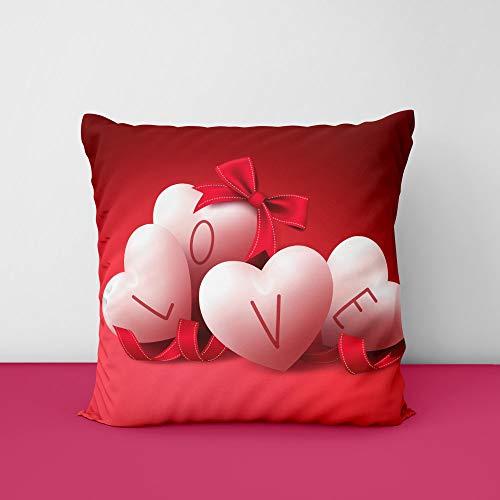 41aFzKHNz4L Love Square Design Printed Cushion Cover