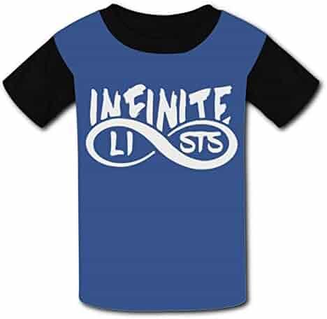 Infinite-Lists Summer Round Collar Short Sleeve Child Tshirt