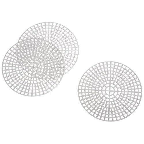 Darice 33005 Canevas Rond Plastique Transparent 7,62 x 7,62 x 0,025 cm 10 Pièces