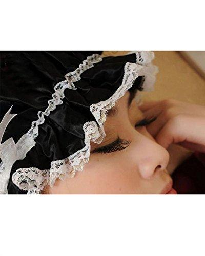 Women's 100% Silk Solid Night Sleep Cap Nightcap Hair Care cap