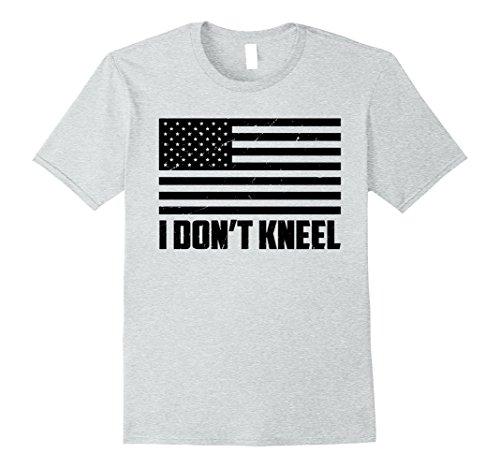 National Costume Ideas (Mens National Anthem I Don't Kneel T Shirt Large Heather Grey)