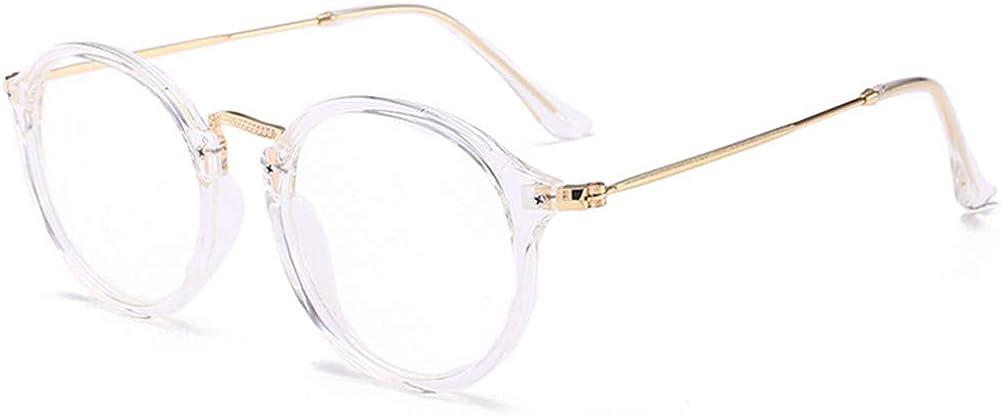YUNCAT Round Vintage Optische Brillen nicht verschreibungspflichtigen Brillen Rahmen mit klaren Gl/äsern f/ür Frauen