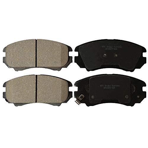 KFE Ultra Quiet Advanced KFE924-104 Premium Ceramic FRONT Brake Pad Set