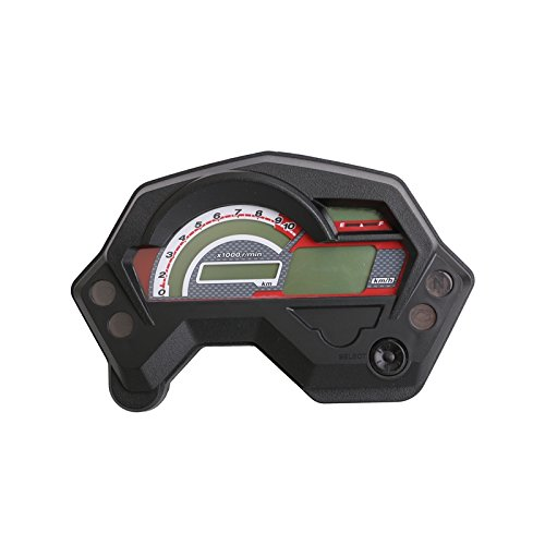 PACEWALKER Motorcycle tachometer fz16 speedometer new abs lcd panel with light case for yamaha fz16