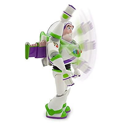 "Disney Advanced Talking Buzz Lightyear Action Figure 12"" (Official Disney Product)"