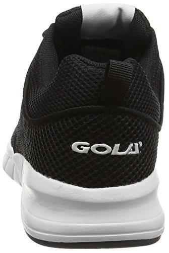 Noir Black Femme Angelo Gola White de Noir Running Entrainement Chaussures q4wYOxA