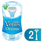 Gillette Venus Oceana Máquinas Para Afeitar Desechables 2 Unidades