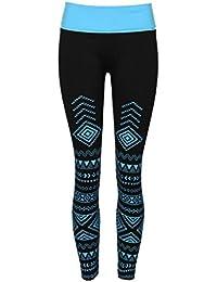 6568ddbf7c2 Crush Womens High-Waist Fold-Over Seamless Active Wear Leggings