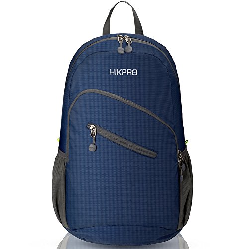 Hikpro 33L/20L Ultra Durable & Ultra lightweight Packable Backpack, Water Resistant Travel Hiking Daypack For Men & Women