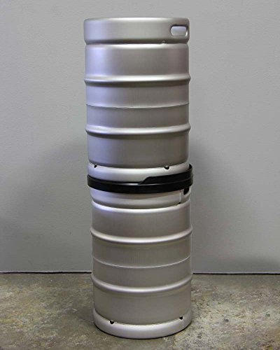 Stack! Co. Half Barrel Keg stacker. Save space securely while increasing your tap handles at your bar, pub, or restaurant.