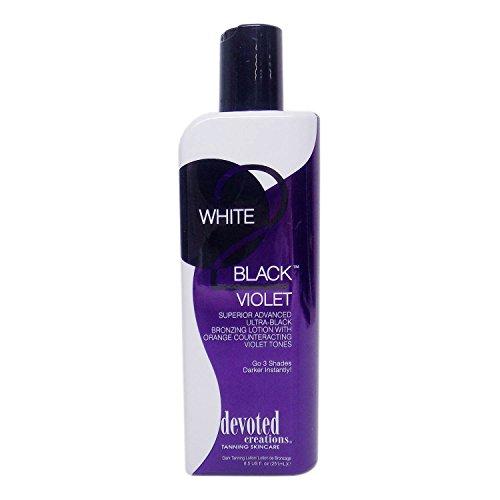 Devoted Creations WHITE 2 BLACK VIOLET Black Bronzer - 8.5 (Black Violet)