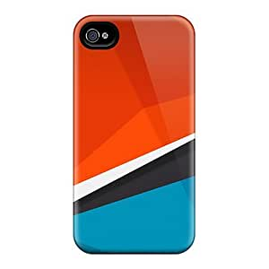 New Diy Design Polygonic For Iphone 4/4s Cases Comfortable For Lovers And Friends For Christmas Gifts