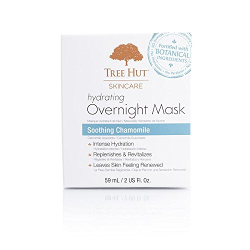 Tree Hut Skincare Hydrating Overnight Mask, Soothing Chamomile, 2 Fluid Ounce